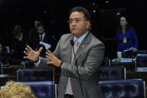 Plenário do Senado Federal durante sessão deliberativa ordinária.  Em pronunciamento, senador Roberto Rocha (PSB-MA).  Foto: Waldemir Barreto/Agência Senado